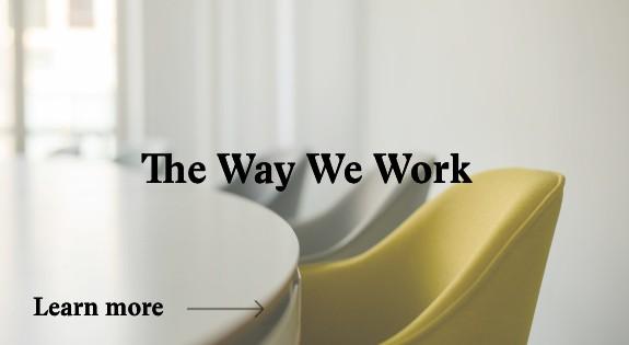 mangeat the way we work